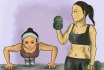 «Реальному» уменьшению груди помогут физические упражнения, диета, или же редукционная маммопластика.